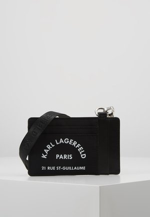 RUE ST GUILLAUME CARD HOLDER - Portemonnee - black
