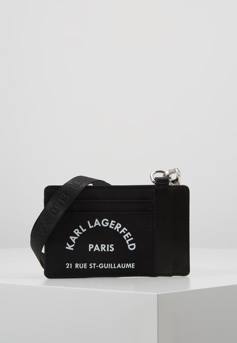 KARL LAGERFELD - RUE ST GUILLAUME CARD HOLDER - Wallet - black