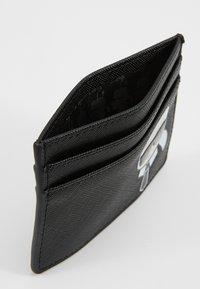 KARL LAGERFELD - IKONIK CARD HOLDER - Wallet - black - 5