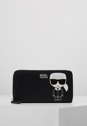 IKONIK ZIP WALLET - Peněženka - black