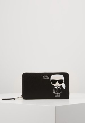 IKONIK LARGE ZIP WALLET - Wallet - black