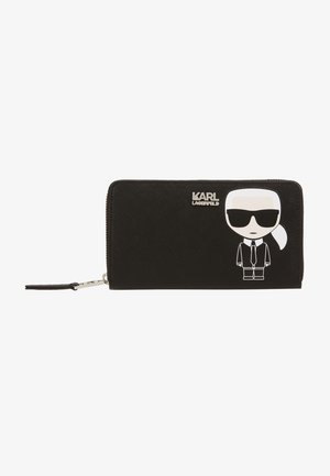 IKONIK LARGE ZIP WALLET - Geldbörse - black
