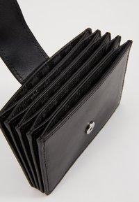 KARL LAGERFELD - IKONIK MULTI CARDHOLDER - Business card holder - black - 5