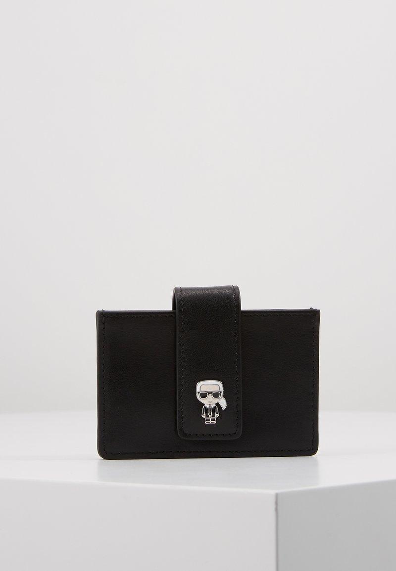 KARL LAGERFELD - IKONIK MULTI CARDHOLDER - Business card holder - black