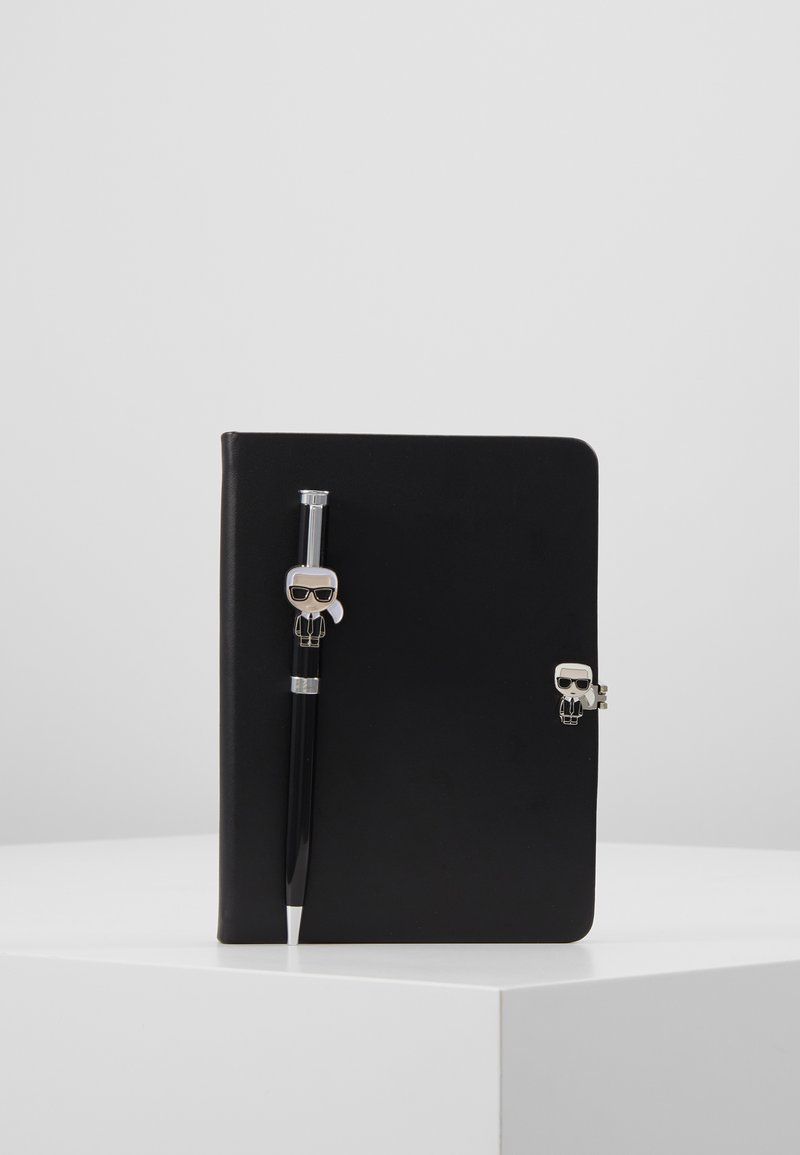 KARL LAGERFELD - IKONIK NOTEBOOK PEN GIFTSET - Other - black