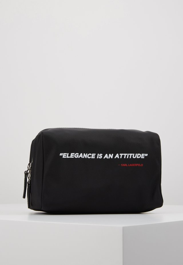 LEGEND WASHBAG - Wash bag - black