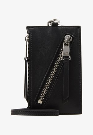 ODINA BADGE HOLDER - Monedero - black