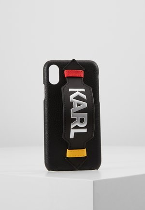 CASE WITH STRAP XS - Phone case - black
