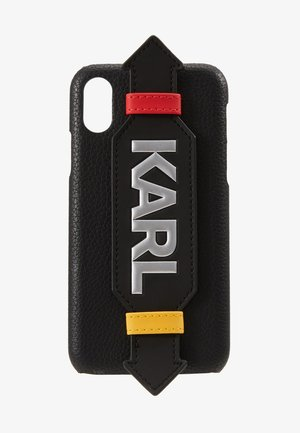 CASE WITH STRAP XS - Telefoonhoesje - black