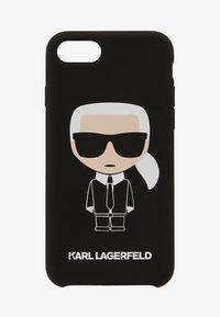 KARL LAGERFELD - IKONIK 8 - Obal na telefon - black - 1
