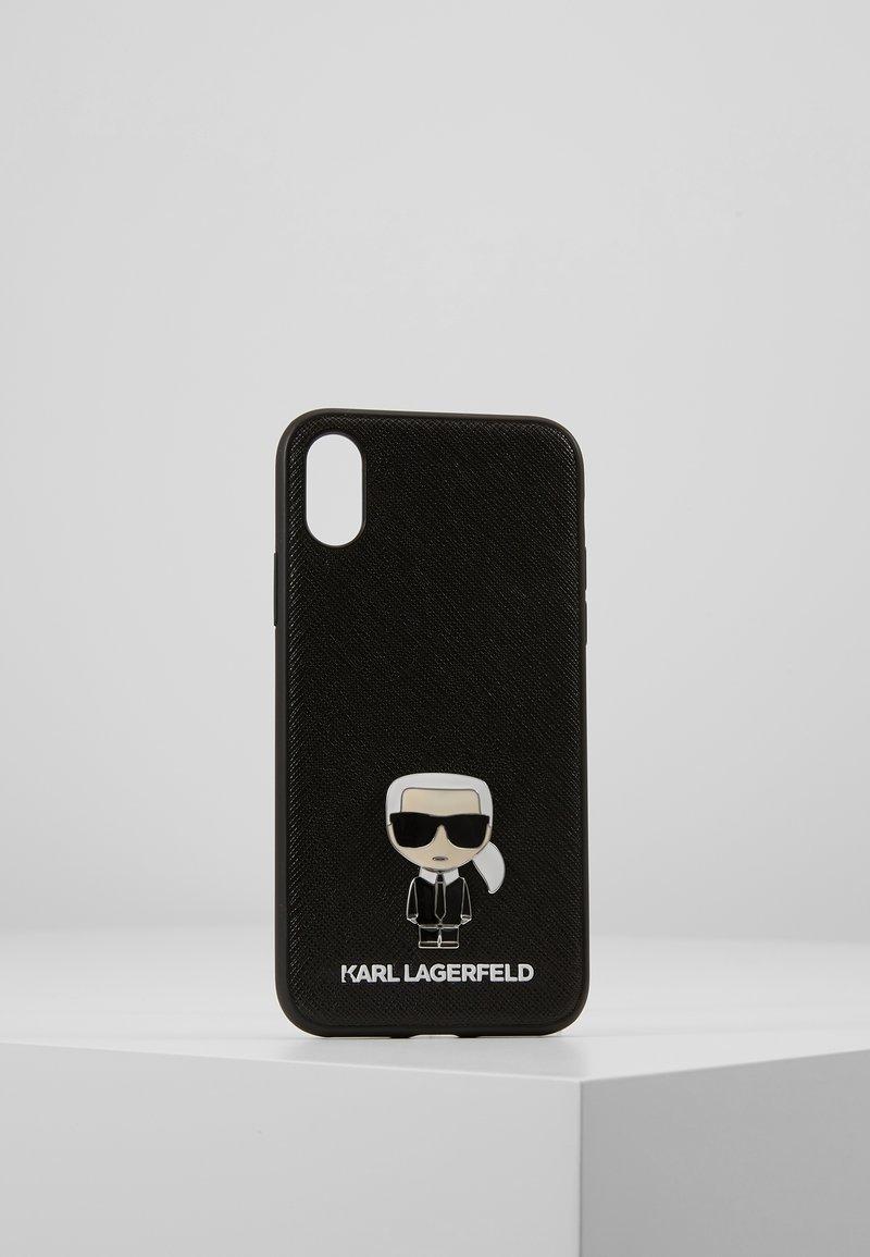 KARL LAGERFELD - IKONIK PIN XS - Handytasche - black