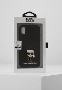 KARL LAGERFELD - IKONIK PIN XS - Handytasche - black - 5