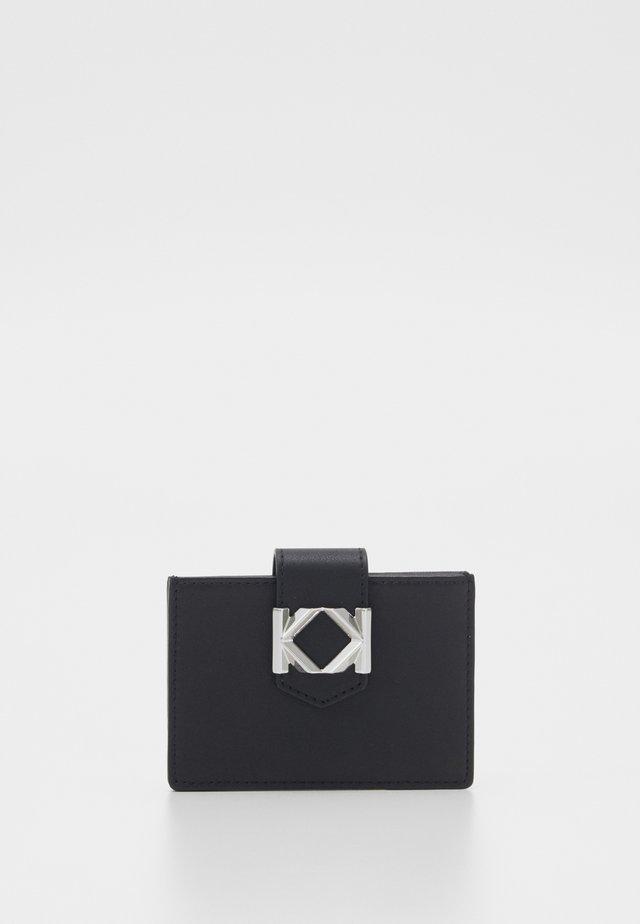 CARD HOLDER - Portemonnee - black