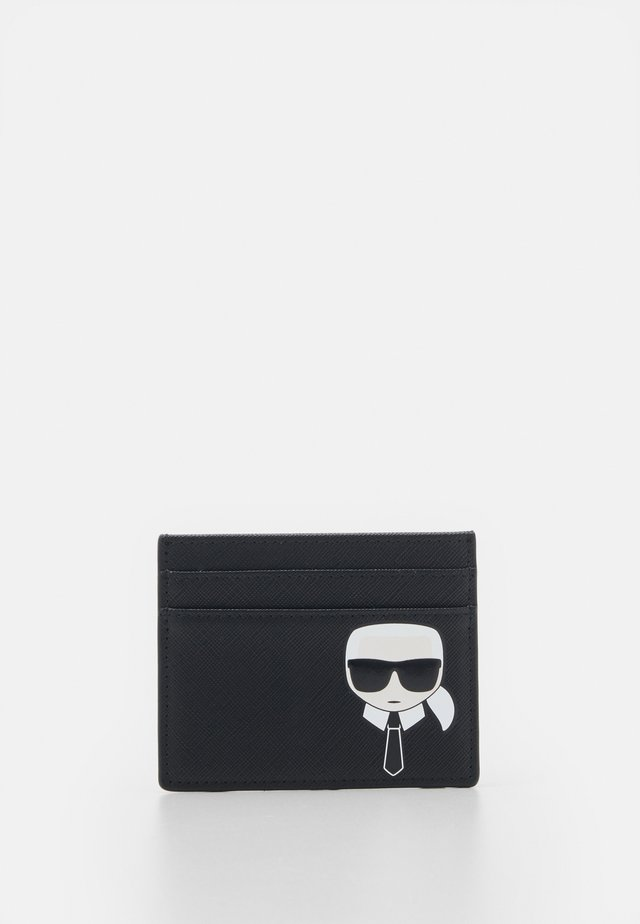 IKONIK CLASSIC CARD HOLDER - Geldbörse - black