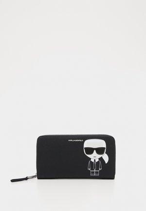 IKONIK CONT ZIP WALLET - Wallet - black