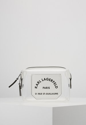 JOURNEY TRANSPARENT WASHBAG - Wash bag - white