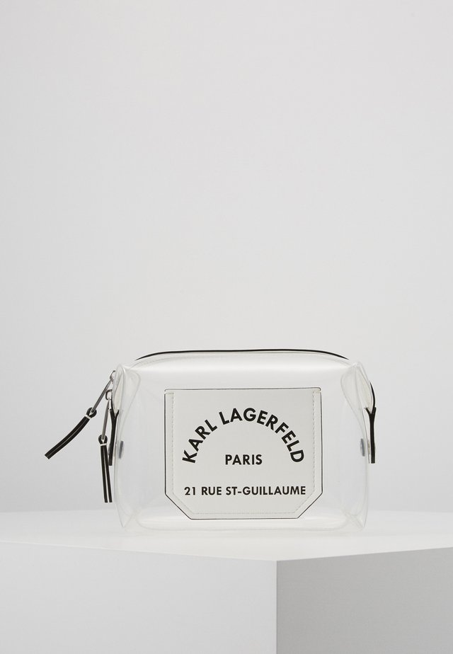 JOURNEY TRANSPARENT WASHBAG - Kosmetiktasche - white