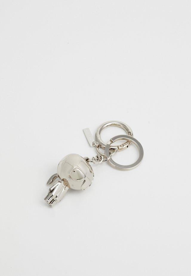 IKONIK KARL KEYCHAIN - Schlüsselanhänger - silver-coloured