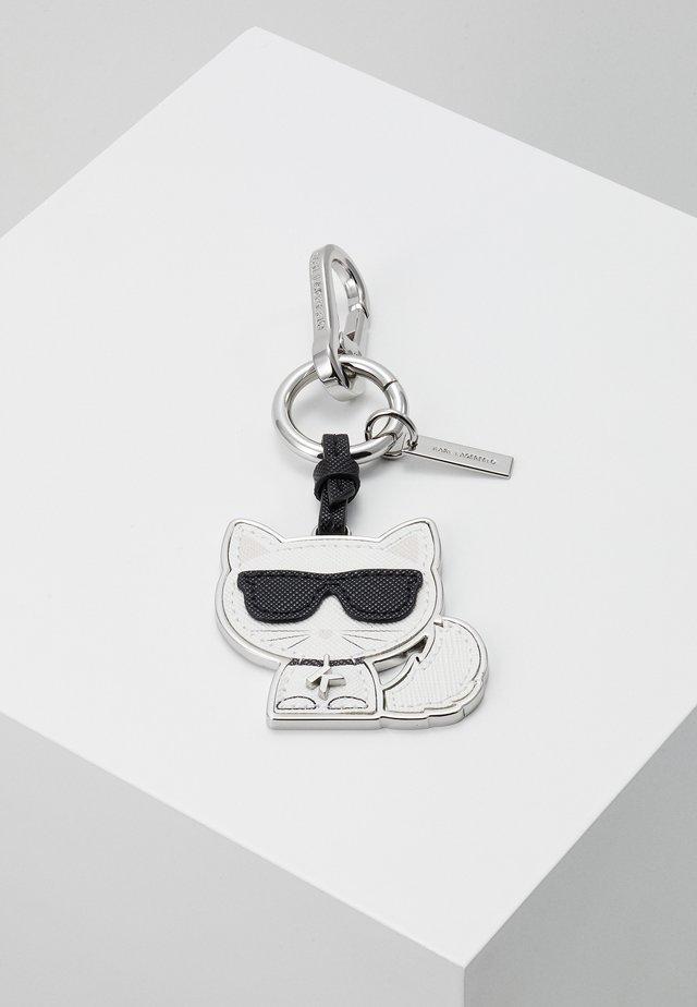 IKONIK CHOUPETTE KEYCHAIN - Schlüsselanhänger - black/white