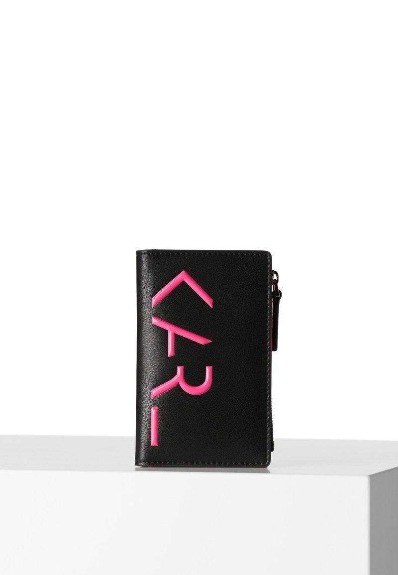 KARL LAGERFELD - Business card holder - black