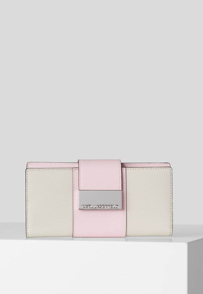 KARL LAGERFELD - Wallet - off-white
