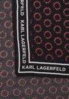 KARL LAGERFELD - SPORTY LOGO SCARF - Foulard - black