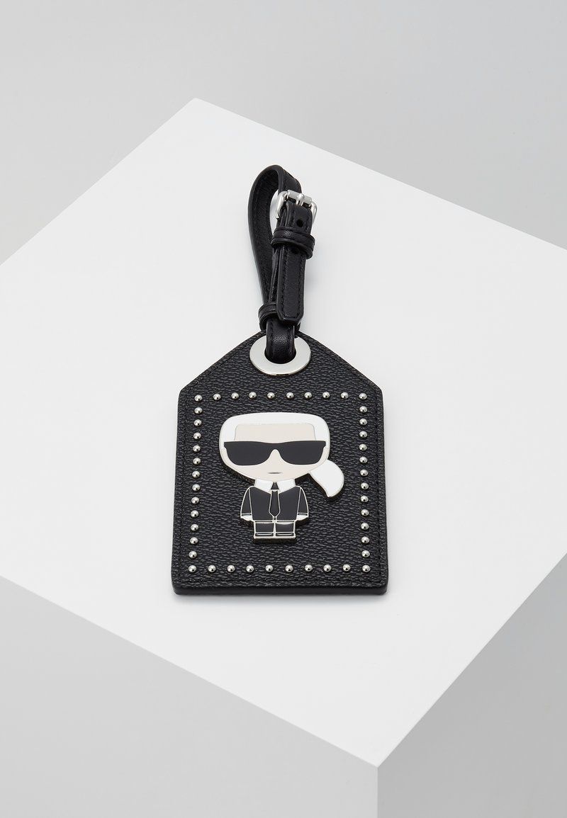 KARL LAGERFELD - IKONIK PIN TAG - Other - black