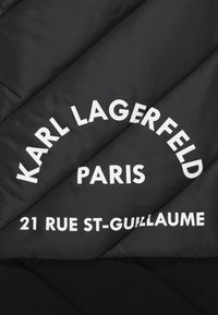 KARL LAGERFELD - GUILLAUME PUFFER SCARF - Sjaal - black - 2