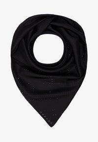 KARL LAGERFELD - KARL X CARINE PERFORATED SCARF - Foulard - black - 0