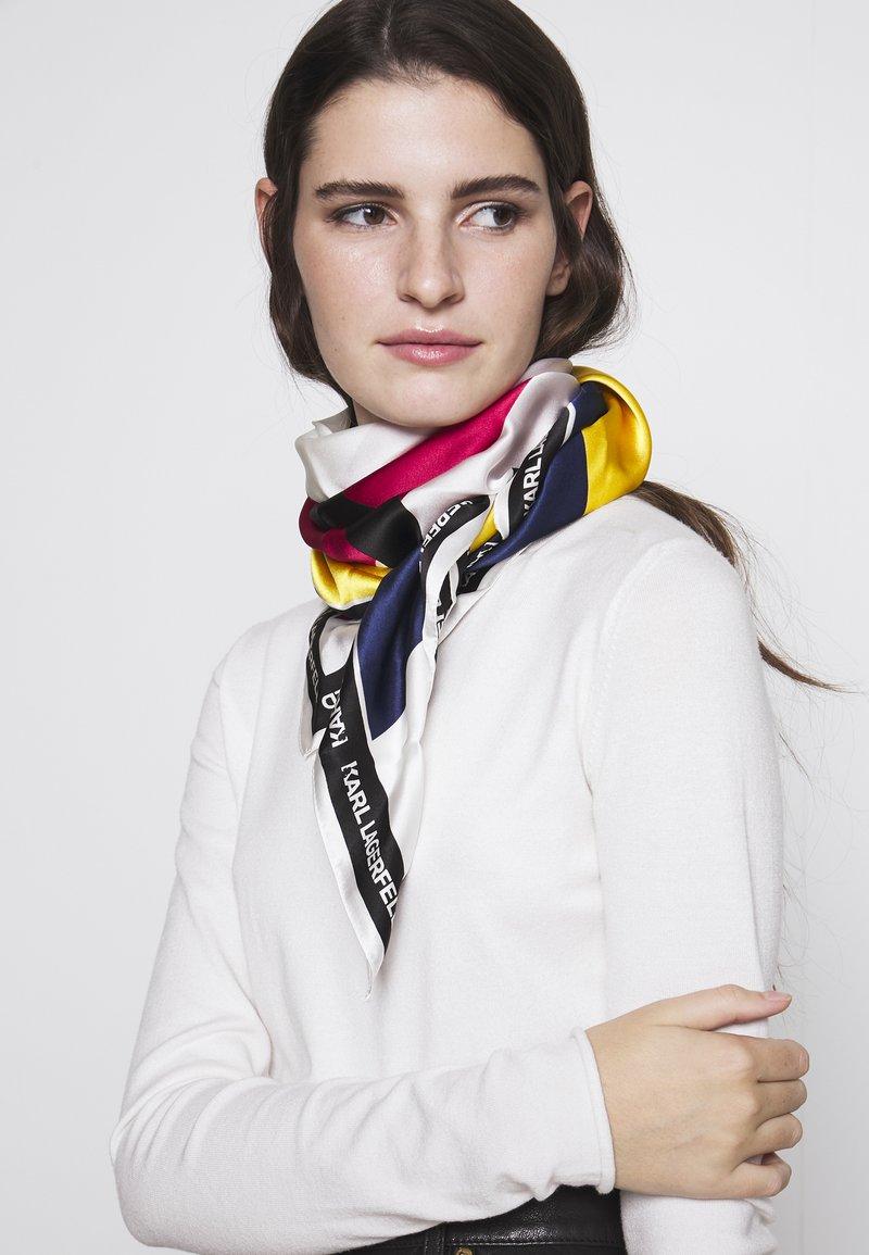 KARL LAGERFELD - BAUHAUS SCARF - Foulard - multi-coloured