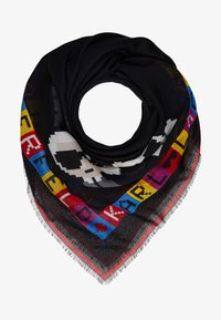 KARL LAGERFELD - IKONIK PIXEL SCARF - Chusta - multi-coloured - 1