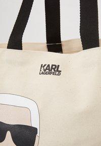 KARL LAGERFELD - IKONIK - Torba na zakupy - natural - 2