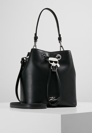 IKONIK BUCKET BAG - Sac à main - black