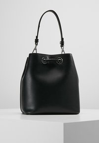 KARL LAGERFELD - IKONIK BUCKET BAG - Kabelka - black - 2