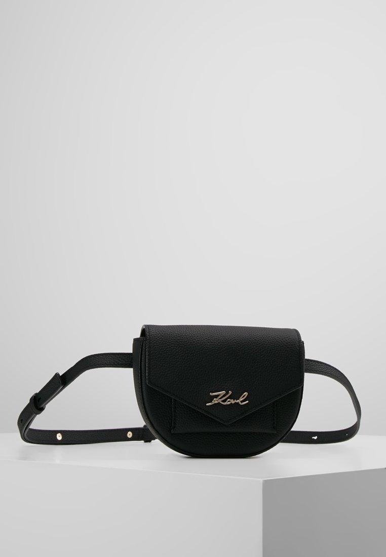 KARL LAGERFELD - KARRY ALL BUMBAG - Bum bag - black