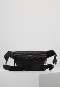 KARL LAGERFELD - KUILTED STUDS BUMBAG - Bum bag - black - 2