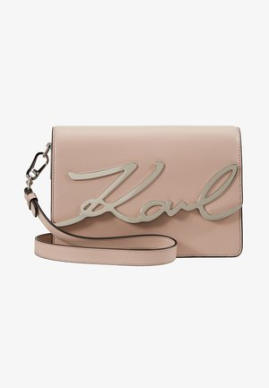 SIGNATURE SHOULDERBAG - Schoudertas - powder pink