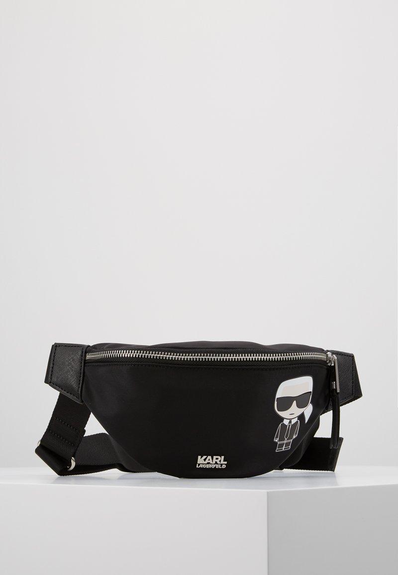 KARL LAGERFELD - Bum bag - black