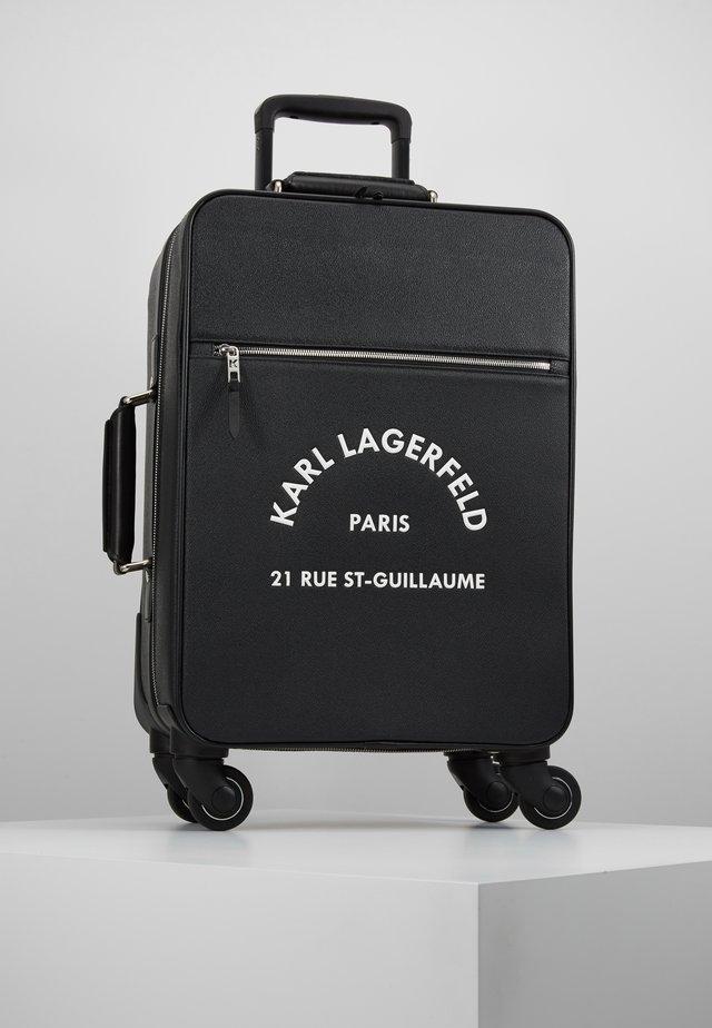 RUE ST GUILLAUME TROLLEY - Trillekoffert - black
