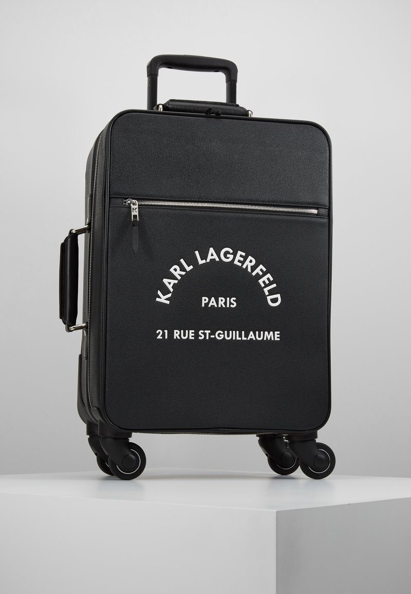 KARL LAGERFELD - RUE ST GUILLAUME TROLLEY - Wheeled suitcase - black