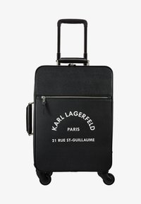 KARL LAGERFELD - RUE ST GUILLAUME TROLLEY - Valise à roulettes - black - 1