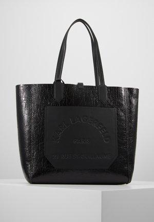 JOURNEY TOTE - Velká kabelka - black