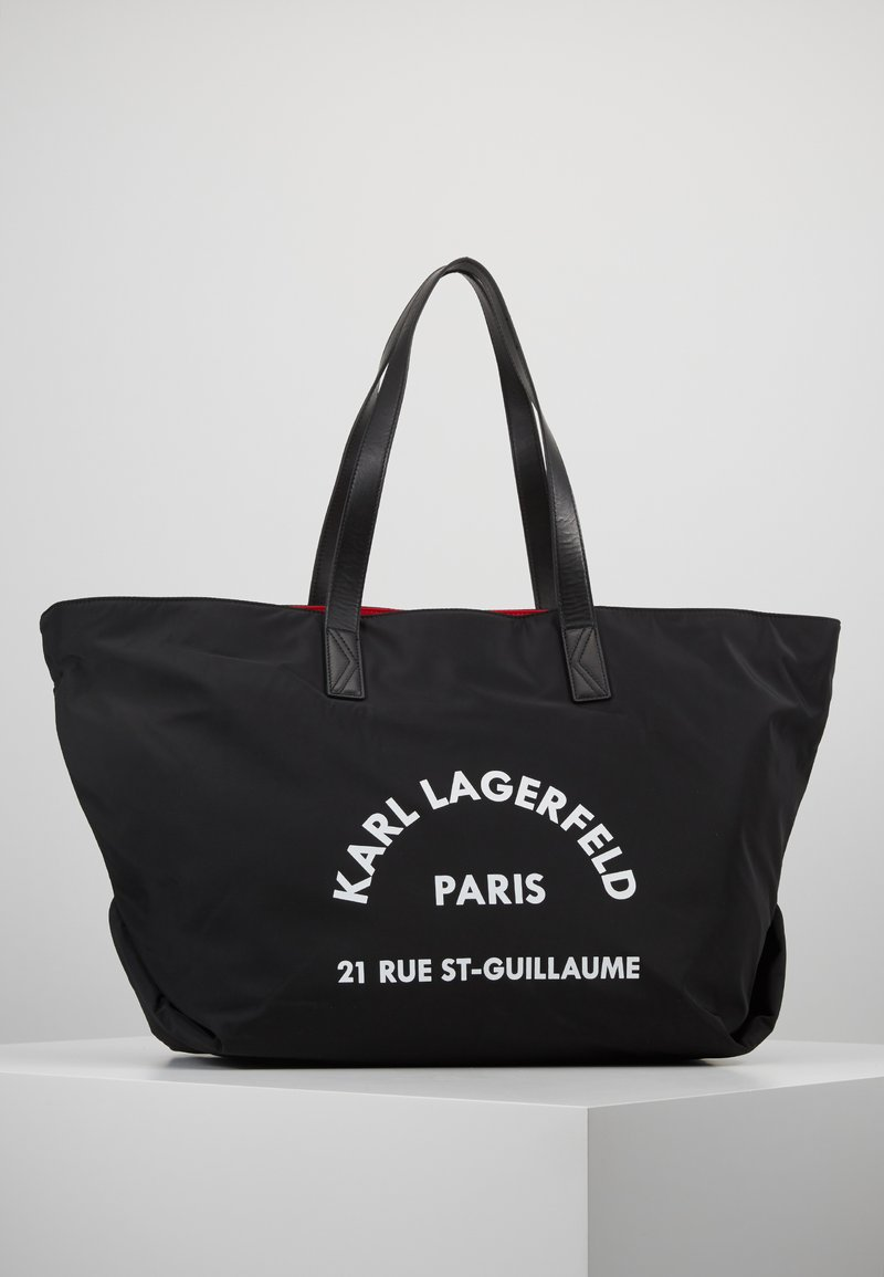 KARL LAGERFELD - RUE ST GUILLAUME BIG TOTE - Tote bag - black