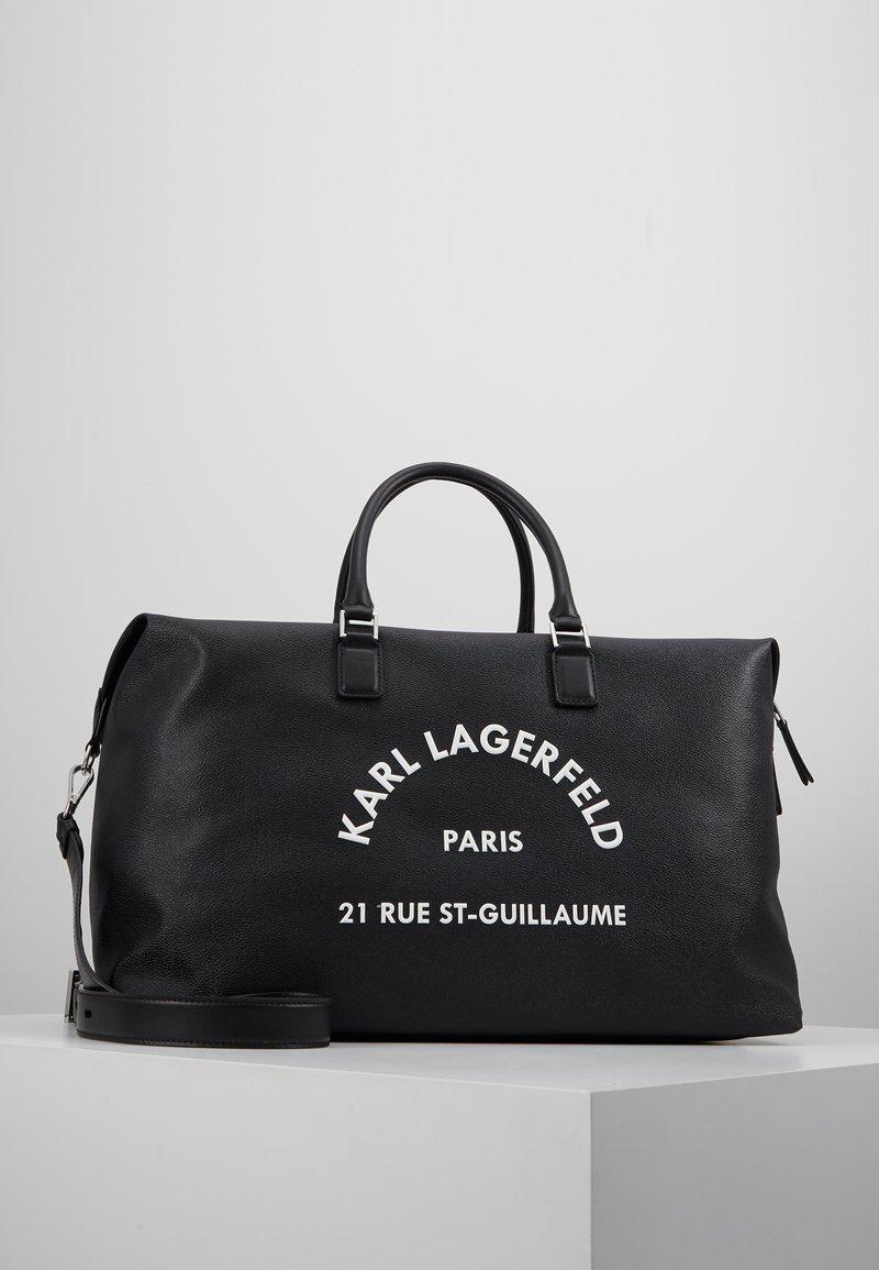 KARL LAGERFELD - KARL X OLIVIA RUE ST GUILLAUME WEEKENDER - Weekend bag - black