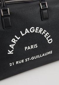 KARL LAGERFELD - Weekendveske - black - 6