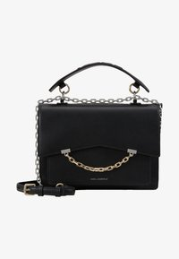 KARL LAGERFELD - SEVEN TOP HANDLE - Skuldertasker - black - 5