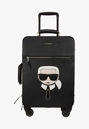 IKONIK TROLLEY - Wheeled suitcase - black