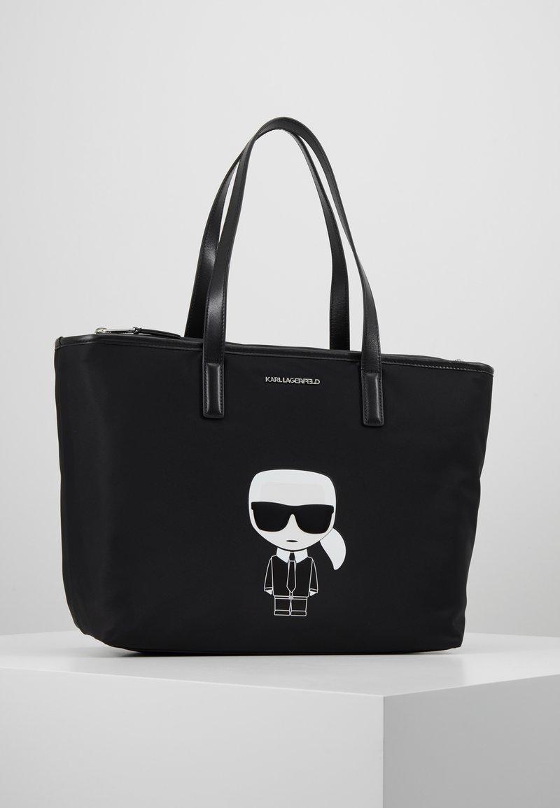 KARL LAGERFELD - IKONIK TOTE - Tote bag - black