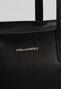 KARL LAGERFELD - IKONIK SOFT TOTE - Handbag - black - 2