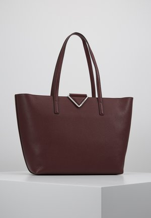 VEKTOR TOTE - Shopping Bag - wine